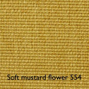 Soft mustard flower 554
