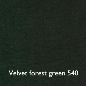 Velvet forest green 540