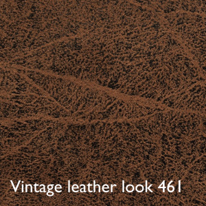 Leather look brown vintage 461