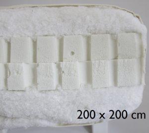 200 x 200 cm Double latex