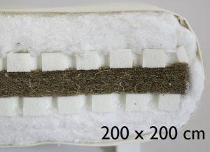 200 x 200 cm Sandwich