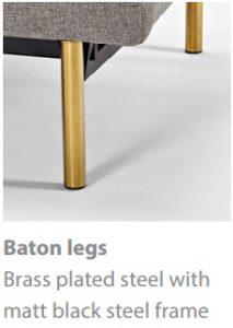 Baton legs