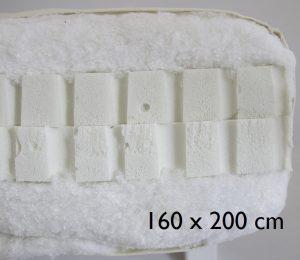 160 x 200 cm Double latex
