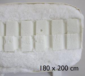 180 x 200 cm Double latex