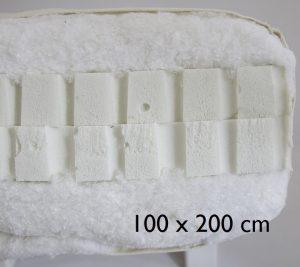 100 x 200 cm Double latex