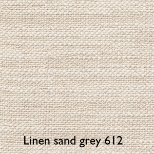 Linen sand grey 612