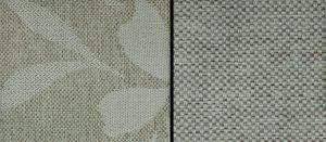 Mönstrade kuddar enfärgad stomme York / York  flower Stone
