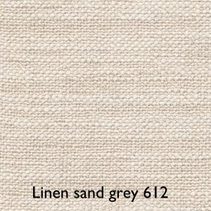 Blida / Linen sand grey 612