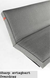 Sharp avtagbart – vit grund madrass + överdrag