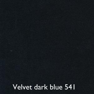 Velvet dark blue 541