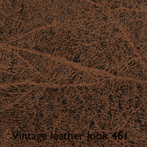 Leather look brown vintage 461