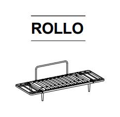Utan madrass (Endast Rollo stomme)