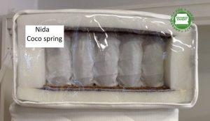 Nida Coco Spring fast fjädring, 21cm tjock