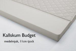 Budget kallskum medelmjuk, 11 cm tjock