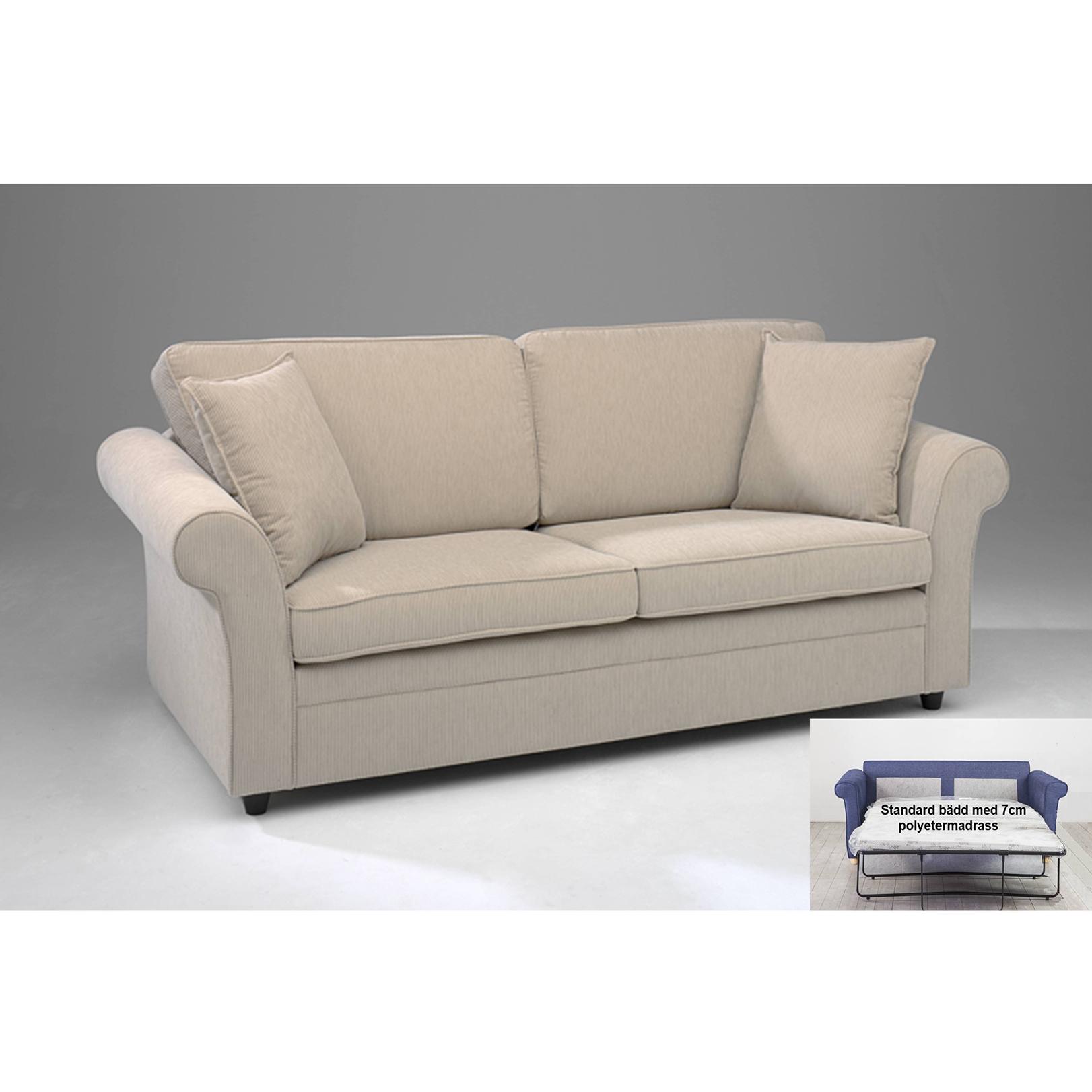 Berömda Aveny framåtbäddad soffa från Amalfi | Bäddsoffexperten EC-29