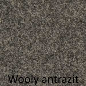 Wooly antrazit