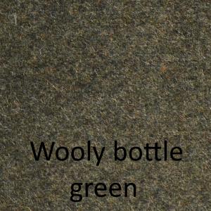 Wooly bottle green