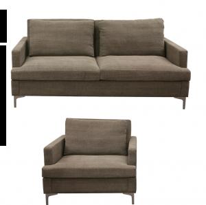 Casinio soffa och fåtölj utan bädd / Casino chair an sofa, no bed