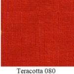 Cotton / bomull  Teracotta 080