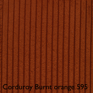 Cordoroy Burnt Orange 595