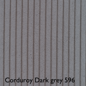 Corduroy Dark Grey 596