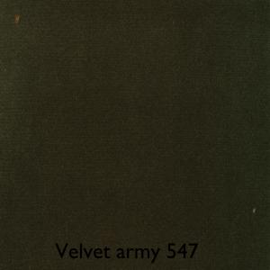 Velvet army green 547