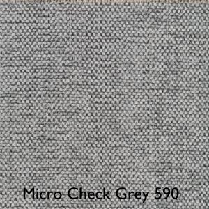 Micro Check grey 590