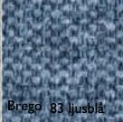 Brego 83 ljusblå
